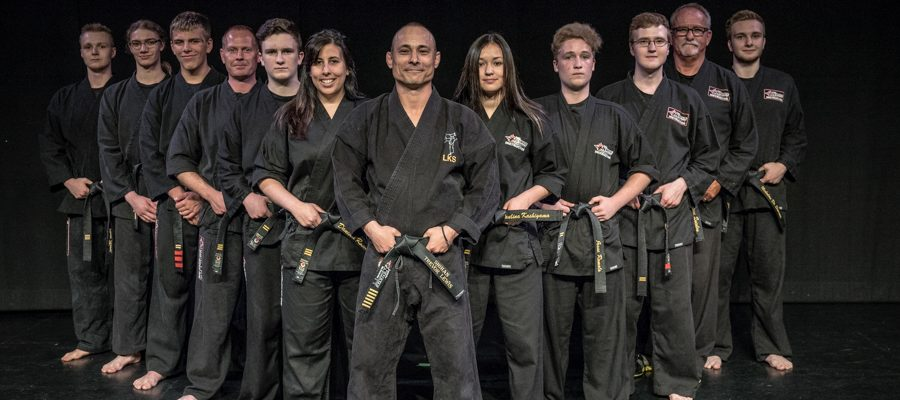 Black Belt Ceremony 2017 Staff Picture
