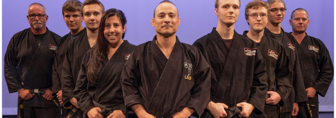 Black Belt Ceremony 2016 Staff Picture