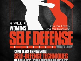 Women's Self Defense Seminar January 2016